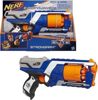 NERF Rotaļu ierocis N-STRIKE ELITE STRONGARM 36033 (Ir Uz Vietas)