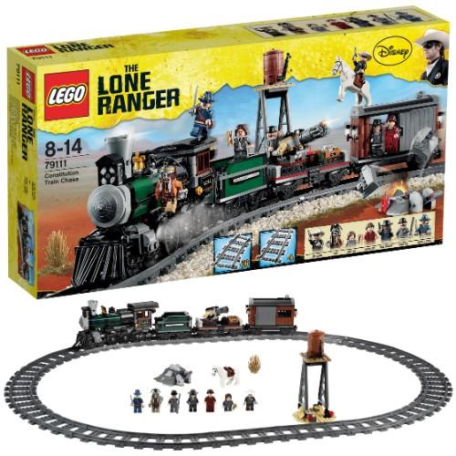 79111 (Ir uz vietas) Lego the lone ranger Constitution Train Chase