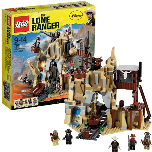 (Ir Uz Vietas) 79109 LEGO The Lone Ranger Colby City Showdown