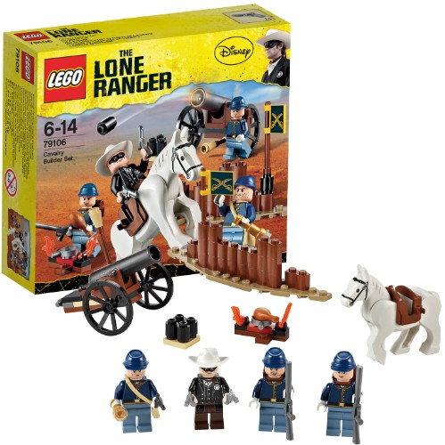 79106 (Ir Uz Vietas) Lego the lone ranger Cavalry Builder Set