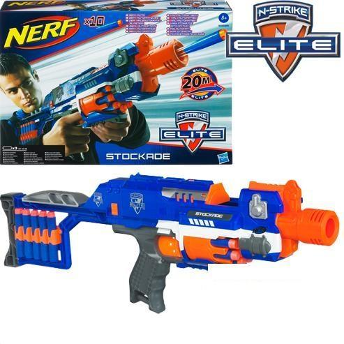 (Ir Uz Vietas) 98695 Hasbro NERF N Strike Elite Stockade