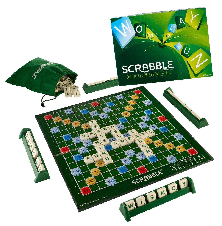 (Есть в наличии) R3089 /Y9623 Настольная игра Mattel SCRABBLE ORIGINAL (LV)