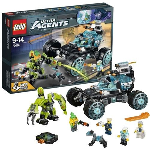 70170 LEGO Ultra Agents UltraCopter vs. AntiMatter, no 9 līdz 14 gadiem NEW 2015!