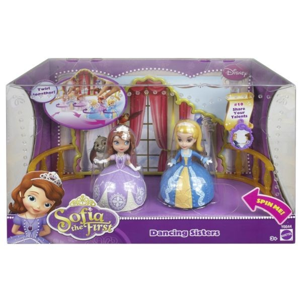 Mattel Y6644 DISNEY Sofia the First Small Doll Dancing Sisters