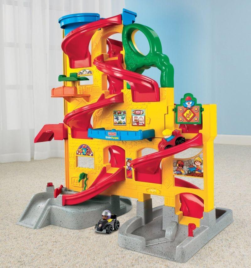 Fisher Price W2866 Bērnu auto garāža
