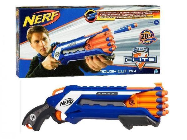(Ir Uz Vietas) Hasbro A1691 Nerf Elite Rough Cut ierocis