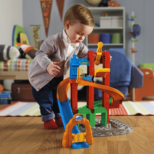 BCX81 FisherPrice My First Thomas Friends Twisting Tower Tracks MATTEL