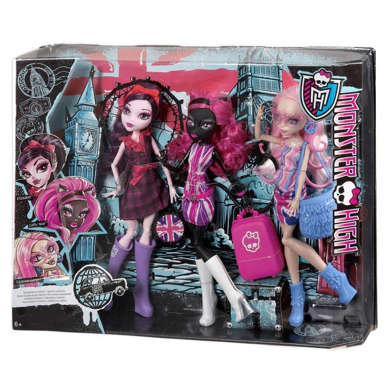 CGF51 Monster High Ghoulebrities in Londoom