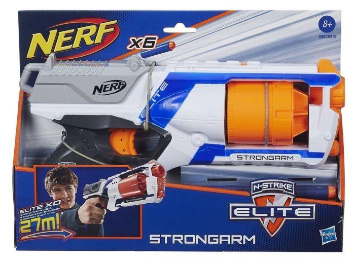 36033 NERF Rotaļu ierocis NEW 2015 N-STRIKE ELITE STRONGARM