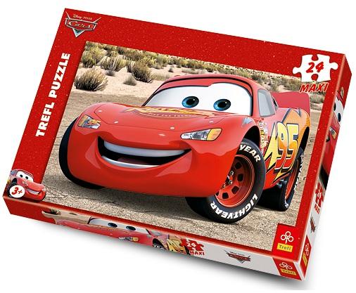 (Есть в наличии) Trefl 14082 Puzzle Lightning McQueen 24 MAXI pcs.