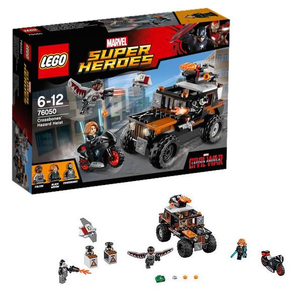 76050 LEGO Super Heroes Bīstama laupīšana, no 6 līdz 12 gadiem NEW 2016!