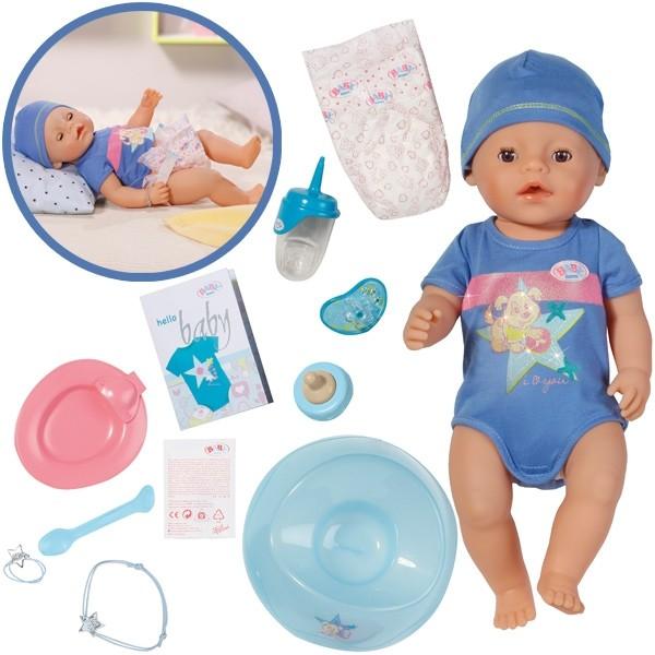 819203 Baby Born NEW 2016 Interaktīva lelle-mazulis, 43 cm