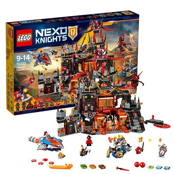 70322 LEGO Nexo Knights Axls Tower Carrier, no 8 līdz 14 gadiem
