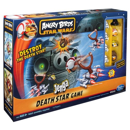 (Есть в наличии) Hasbro Angry Birds Star Wars Jenga Death Star A2845