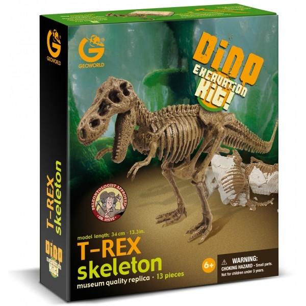 GEOWORLD T-Rex skelets CL120K
