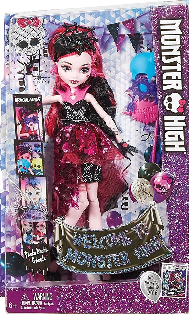 BJR10 / BDD94 Monster High Secret Creepers Pet Of Twyla