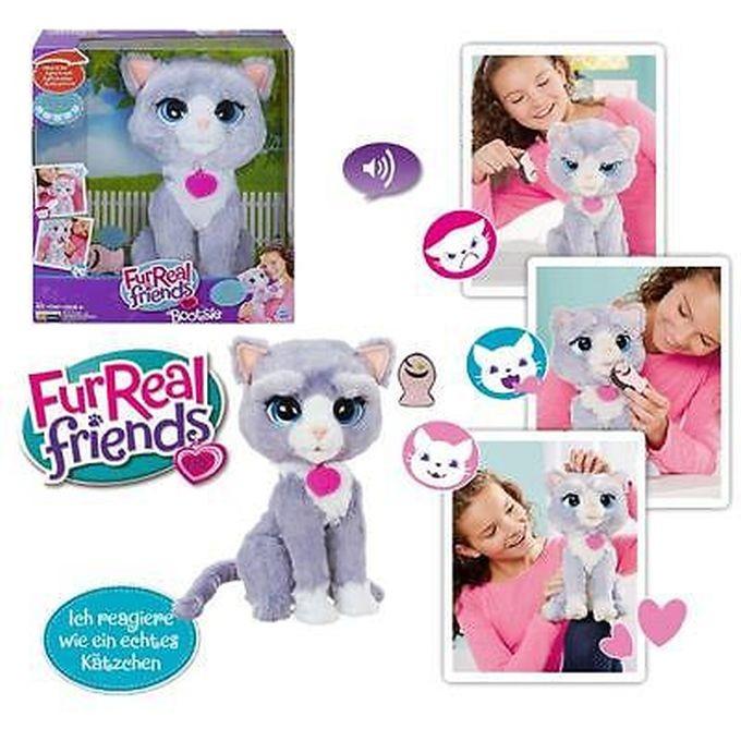 B5636 FUR REAL FRIENDS plīša Bootsie , Fur Real Rotaļlieta Kaķēns Bootsie FurReal HASBRO
