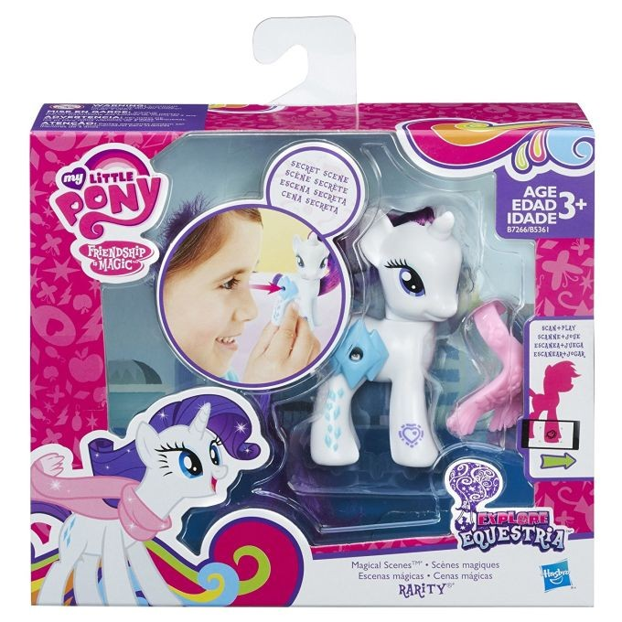 B7266 / B5361 My Little Pony Magical Scenes Rarity