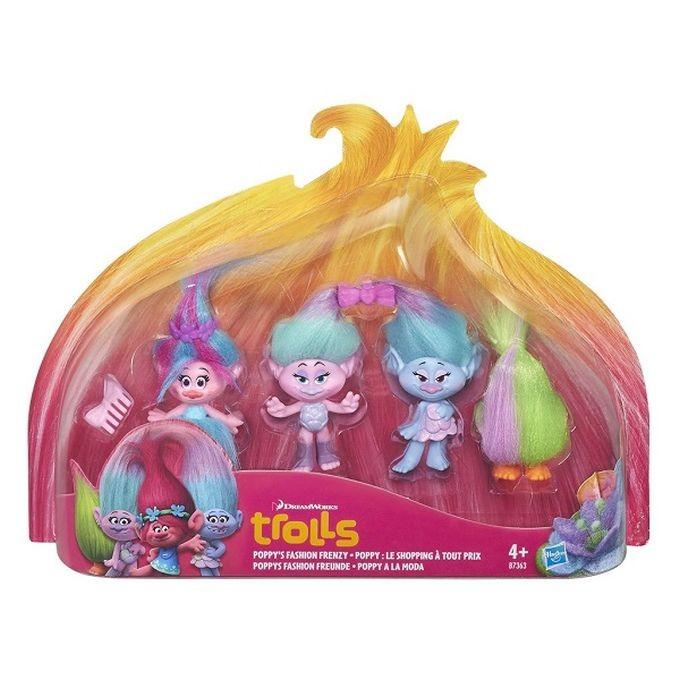 """B7363 / B6557 Dreamworks Trolls 13964 Troll Town Figure Trolls """"Troļļi"""" Varoņu figūras HASBRO"""