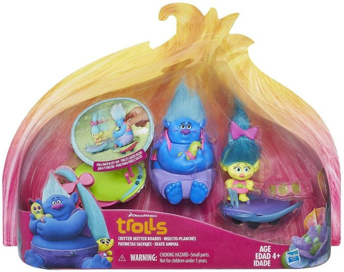 B7350 / B6555 DreamWorks Trolls Guy Diamond Collectible Figure HASBRO