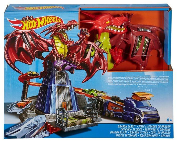 DWL04 Hot Wheels Dragon Blast Playset MATTEL Ir uz vietas