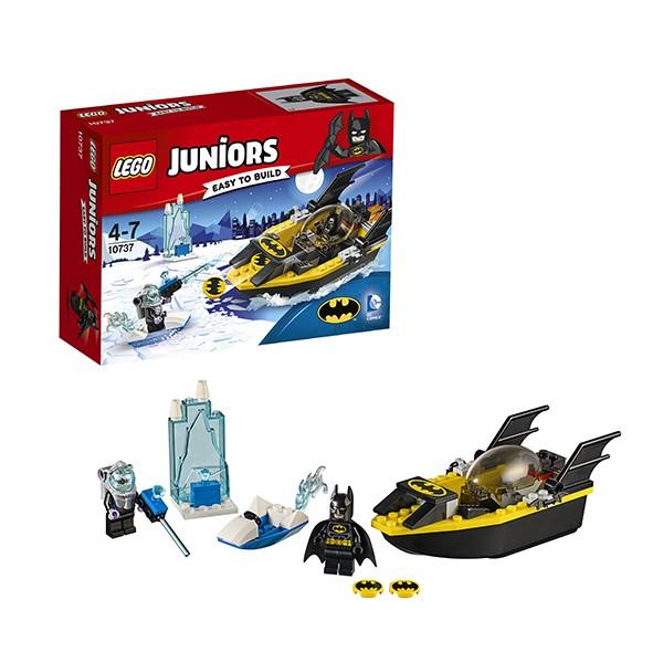 10737 LEGO® Juniors Betmens™ pret Mr. Freeze™, no 4 līdz 7 gadiem NEW 2017!