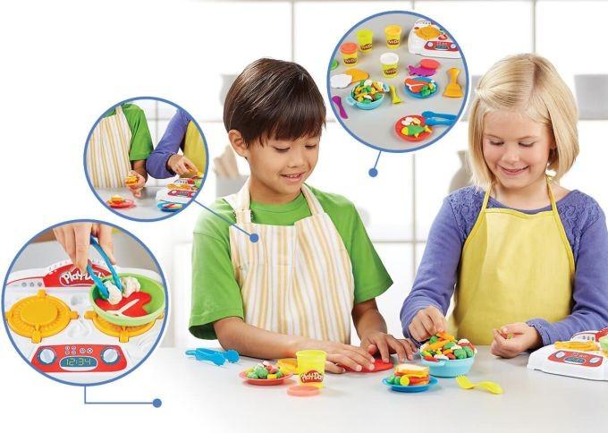 B9814 Hasbro Play-Doh Virtuves komplekts