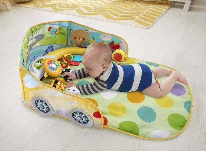 DFP07 Fisher-Price 3-in-1 Convertible Car Gym FISHER PRICE MATTEL