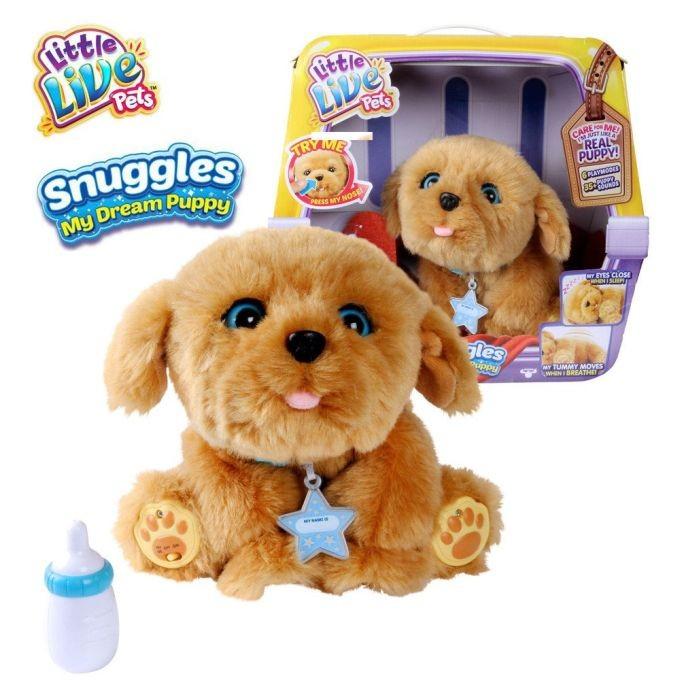 28185 / 281857 Little Live Pets ir uz vietas Interaktīvs kucēns Snuggles Little Live Pets My Dream P