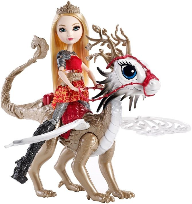 DKM76 Apple White & Braebyrn Dragon - Dragon Games - Ever After High MATTEL