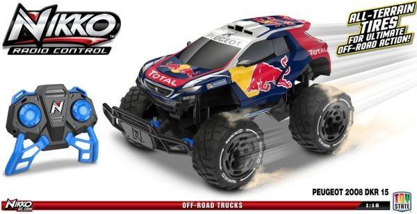 94133 NIKKO R/V mašīna WRC Audi R8 LMS, 1:16