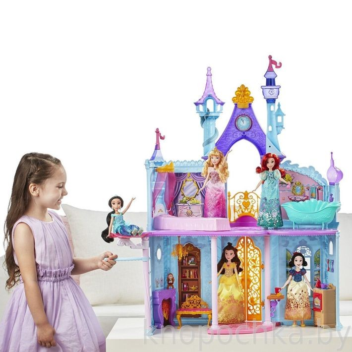 Mattel X9379 Barbie Disney Princess Princešu pils
