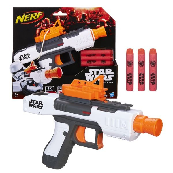 B3171 Star Wars Nerf Episode VII First Order Stormtrooper Blaster