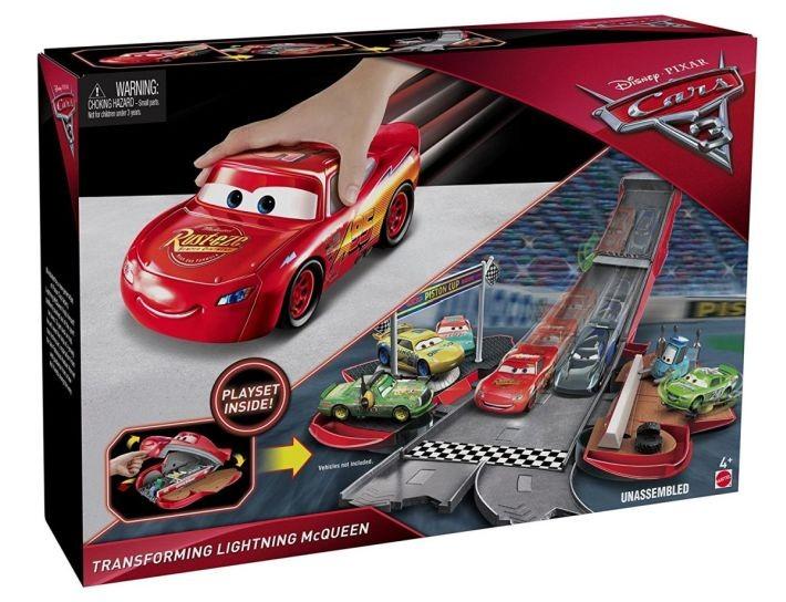 DYB00 / DVT46 Disney Pixar Cars 3 Thunder Hollow Challenge Playset