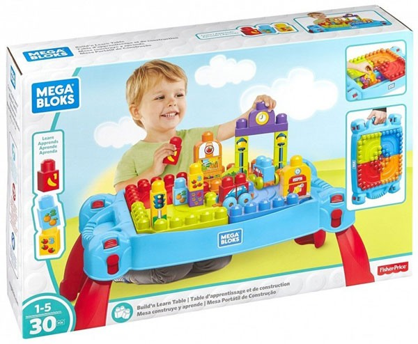 DXH34 Mega Bloks Match My Shapes Building Set