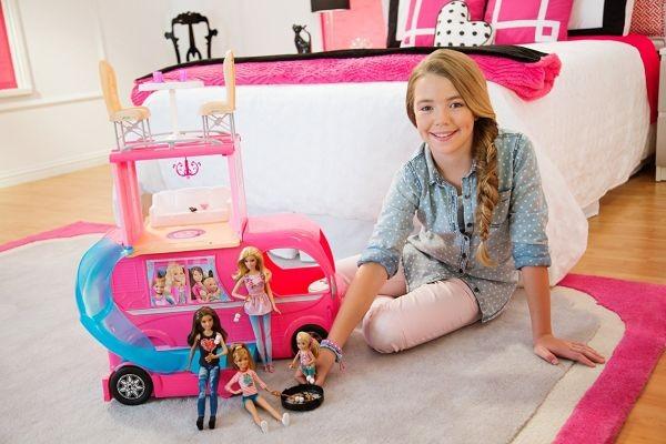 Furgons ceļojumiem Barbie Mattel CJT42