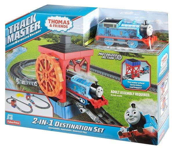 FBK08 Fisher Price Thomas & Friends TrackMaster Cable Bridge set trase