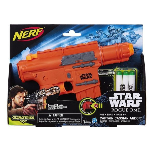 7764 Star Wars Rogue One Nerf Captain Cassian Andor Blaster