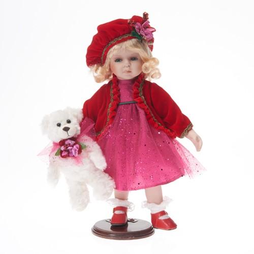 """Ekskluzīva lelle """"Lucie"""" 36 cm (Porcelāns), Limited Edition 122411"""