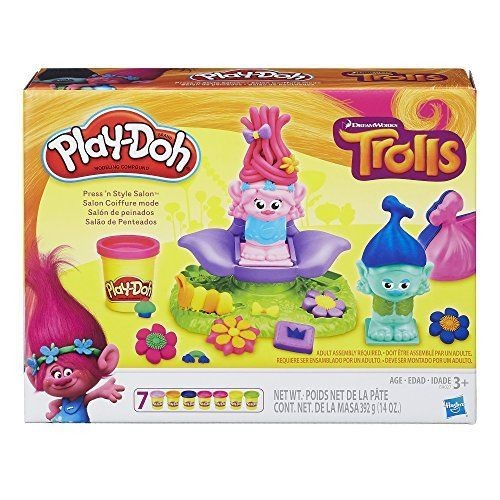 B9027 Play-Doh Dreamworks Trolls Press n Style Salon