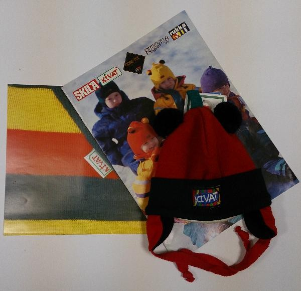 (Ir Uz Vietas) Bērnu cepure KIVAT 308a (no 0 līdz 1 gad.)