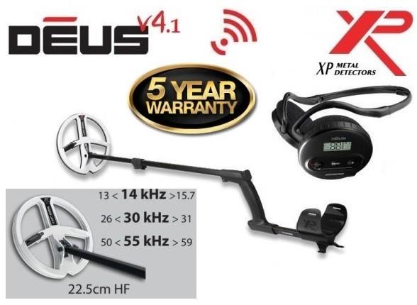Металлоискатель XP Deus 22 HF WS5 V5.2 NEW 2019