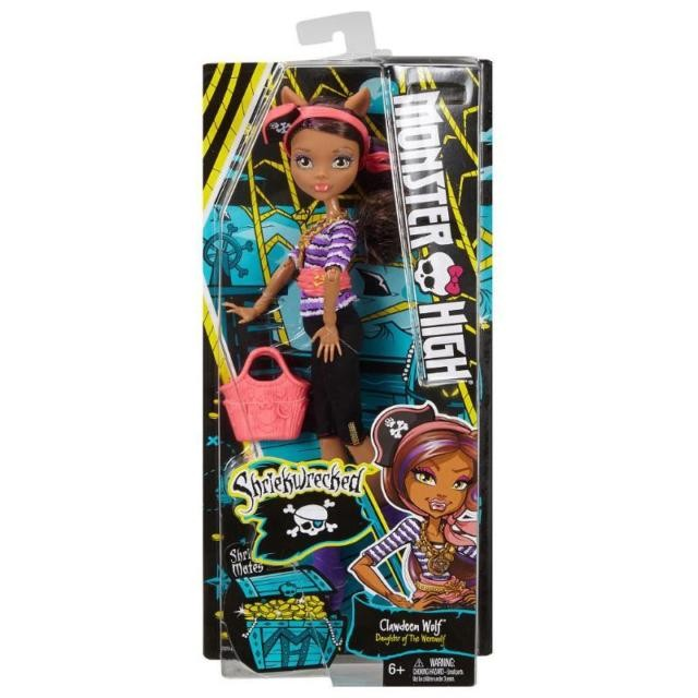 FCV59  Monster High Garden Ghouls - Treesa Thornwillow