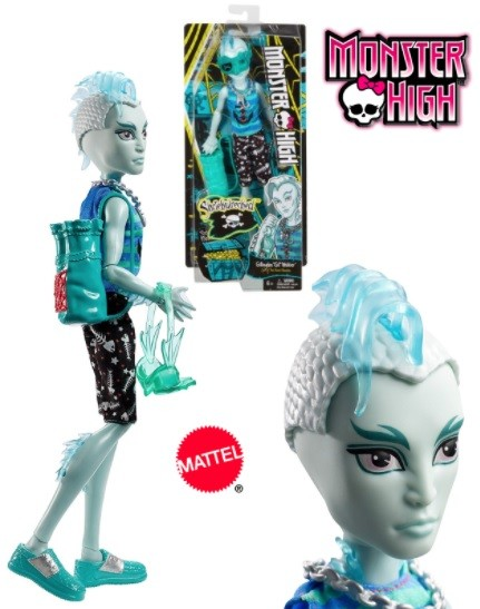 BDD99 / BDD94 Monster High Secret Creepers Hissette