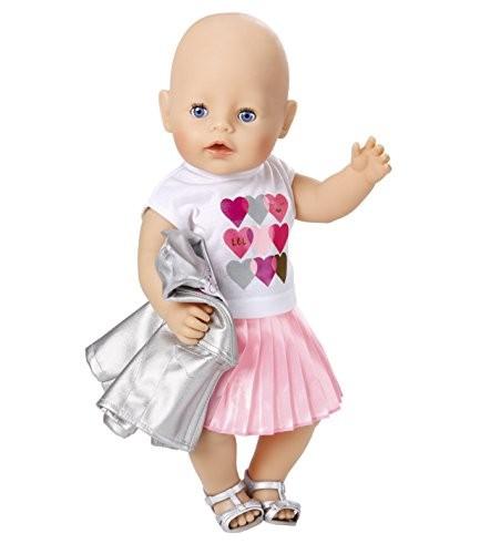 9c220ab723c 824931 Zapf Creation Baby Born City Deluxe Trendsetter Apģērbu komplekts
