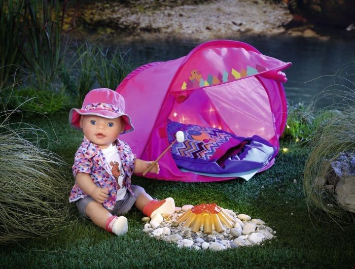 823743 Zapf Baby Born Play & Fun Camping Set