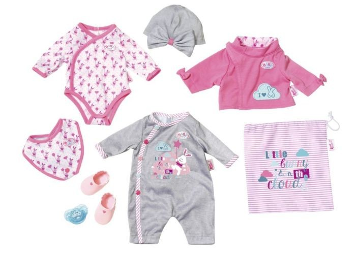 823538 Zapf creation Baby Born Deluxe Care And Dress Starter Kit