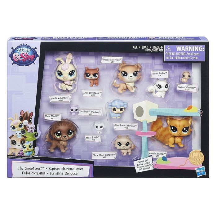 HASBRO Littlest Pet Shop A0410 tatally talented stars & LIMO