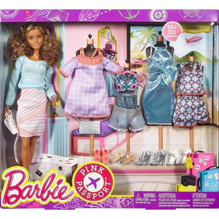 Barbie DYX39 2017 Holiday Doll Barbie 2017 Holiday kolekcijas lelle