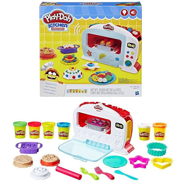 HASBRO PLAY-DOH KITCHEN CREATIONS MAGICAL OVEN B9740